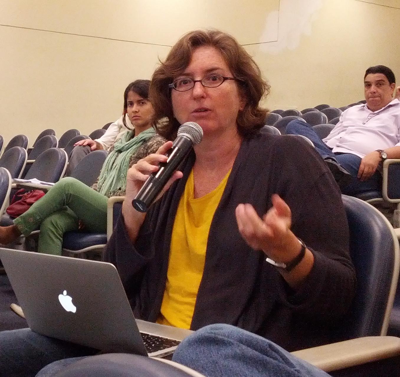 Heloisa Pait, idealizadora e coordenadora do projeto.