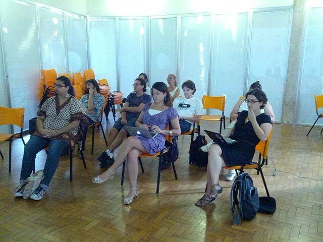 Participantes do mutirão de edição da Wikipédia