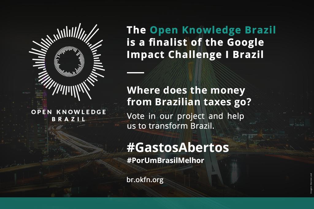 Clique e voto do projeto Gastos Abertos!